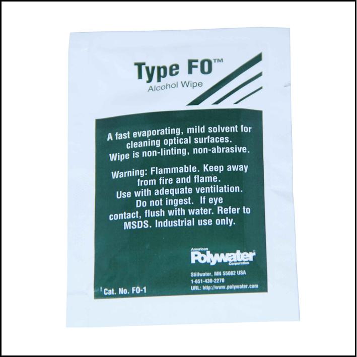 Polywater toallita limpieza fibra