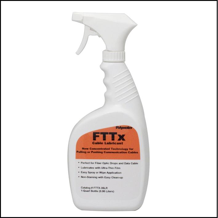 Polywater spray FTTx limpieza fibra