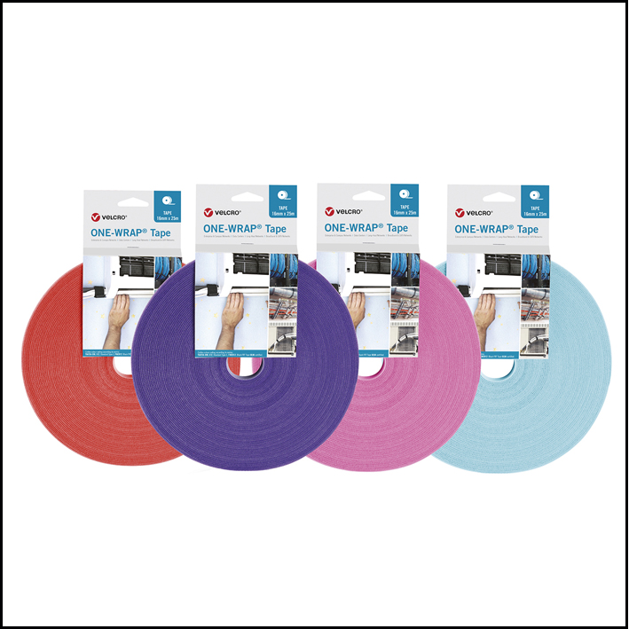 Velcro One Wrap Colores Blister