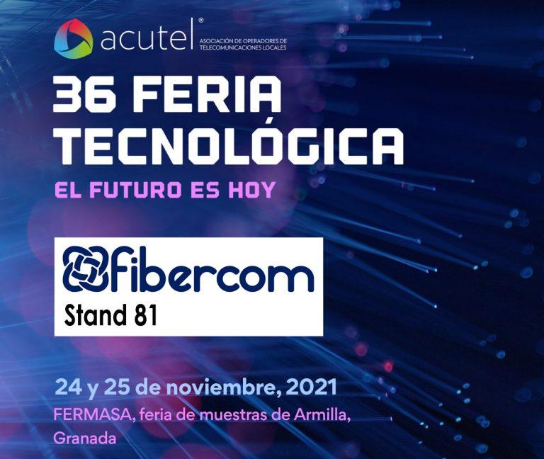 Acutel 2021 Fibercom stand 81